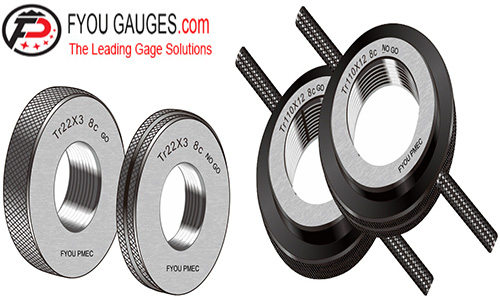 METRIC TRAPEZOIDAL THREAD RING GAGES