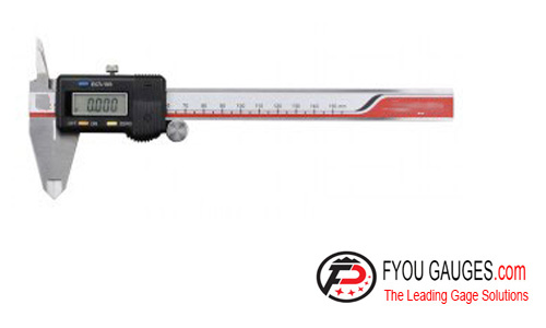 Digital Caliper with Upper Jaws in One Direction