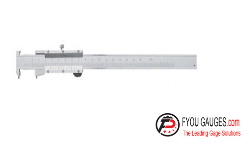 Groove Vernier Caliper With Flat Points