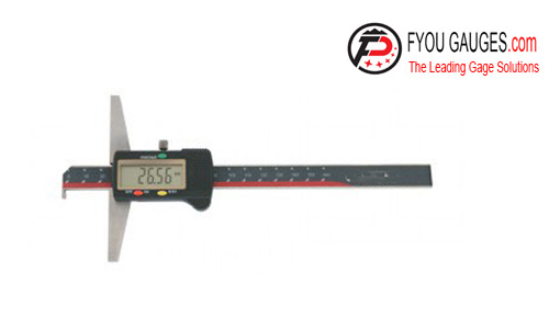 Single Hook Type Digital Depth Gage